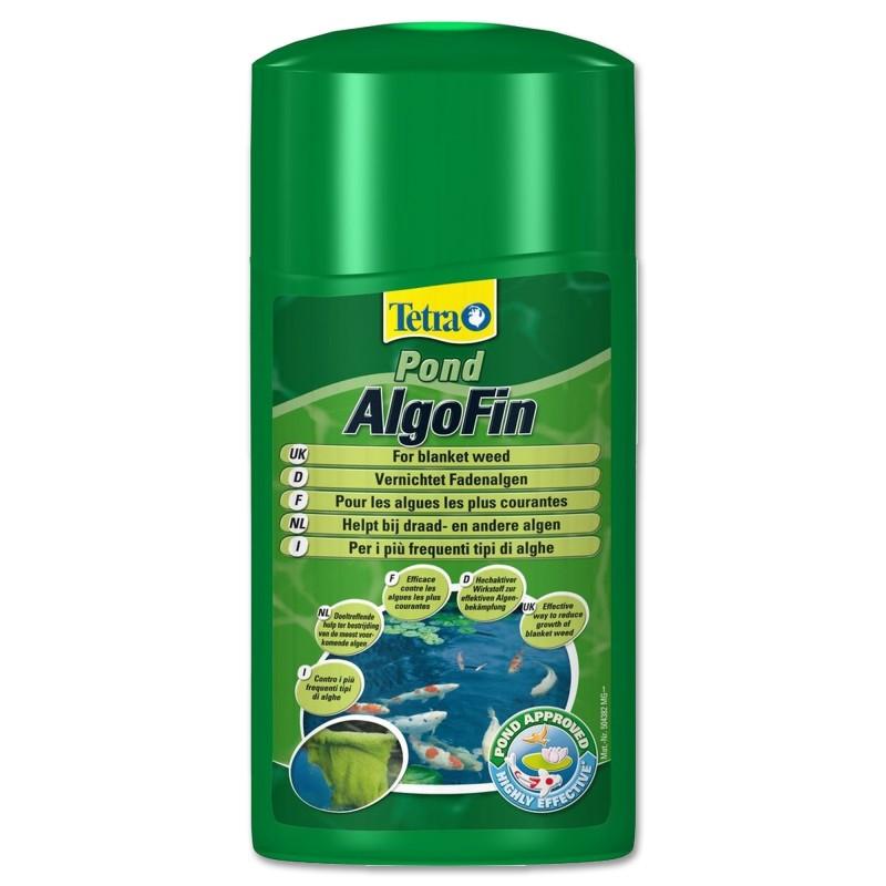 Tetra Pond AlgoFin 500 ml Antialghe per laghetto da giardino sicuro per pesci e piante