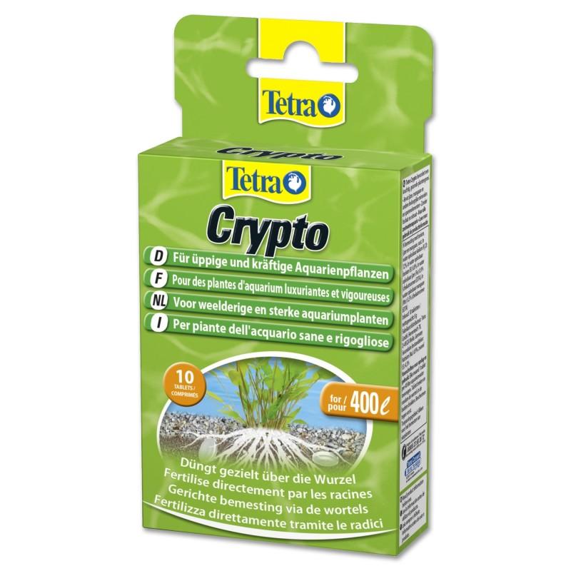 Tetra Crypto Fertilizzante in pastiglie da fondo per radici delle piante in acquario