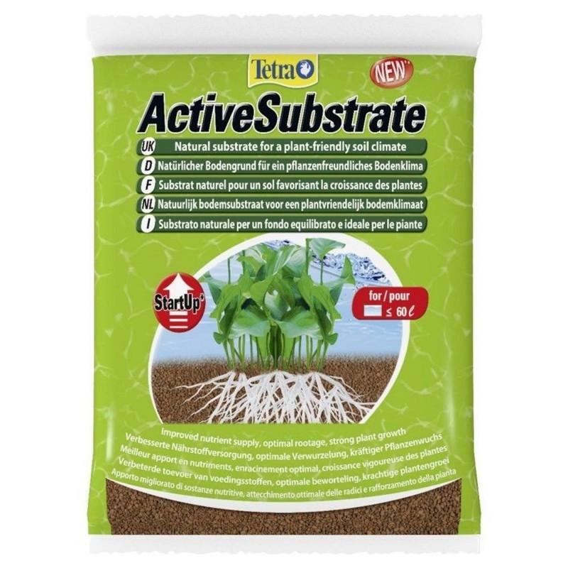 Tetra ActiveSubstrate 6 L Substrato naturale per un fondo in acquario favorisce la crescita delle radici per le piante