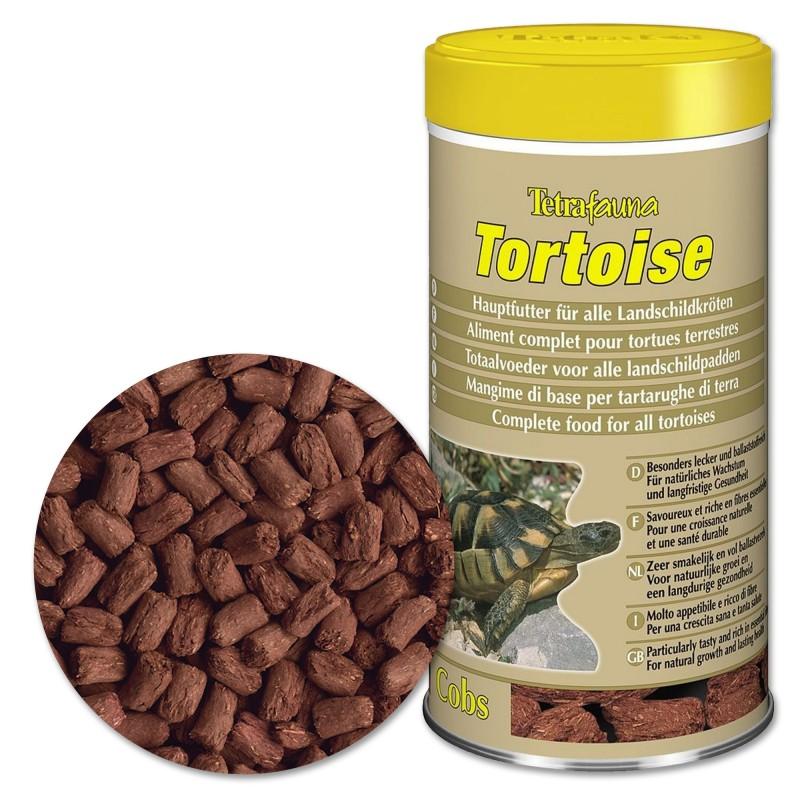 Tetra Tortoise 1 Lt Mangime di base per tartarughe di terra iguana e rettili erbivori