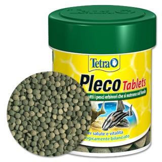 Tetra Pleco Tablets 120 tabs Mangime base in compresse per pesci da fondo erbivori d'acquario