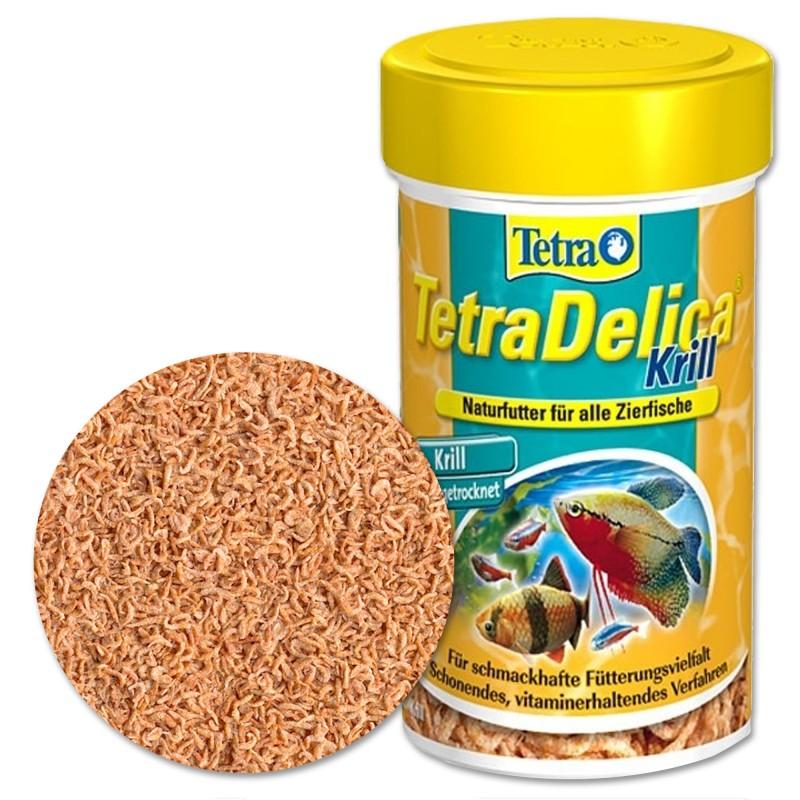 Tetra Delica Krill 100% 100 ml mangime con omega 3 per pesci d'acquario