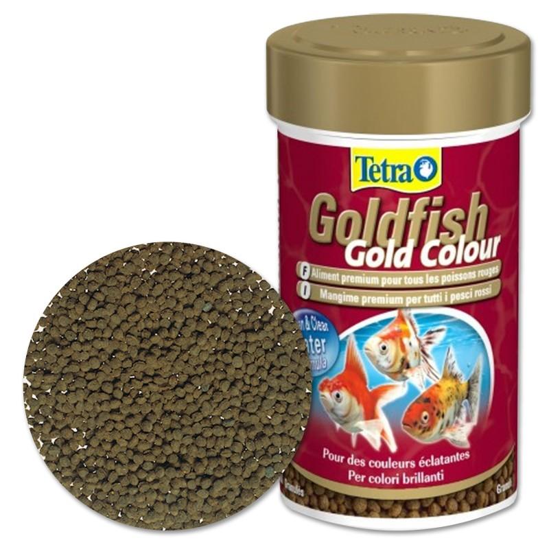 Tetra Goldfish Colour 250 ml Mangime superiore bilanciato per pesci rossi accende i colori