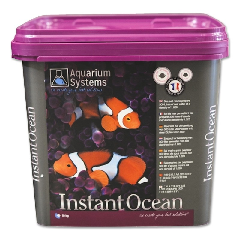 Aquarium Systems Sale Instant Ocean 10 kg per 300 lt sale per acquario marino