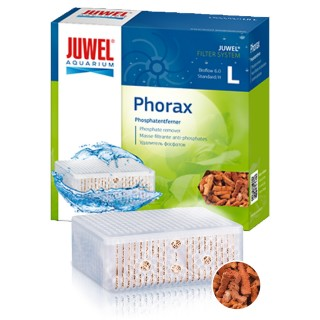 Juwel Phorax L Per filtro Bioflow 6.0 Standard Materiale biologico per degradazione fosfati antifosfati riduce le alghe in acqua