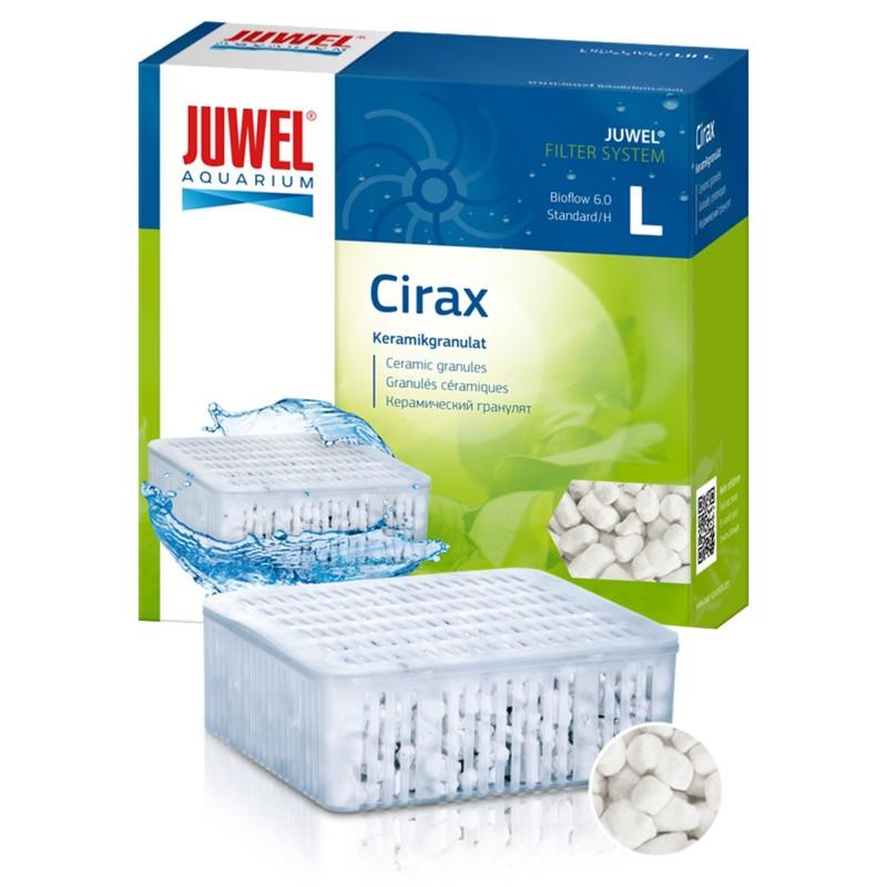 Juwel Cirax L Per filtro Bioflow 6.0 Standard materiale filtrante cannolicchi ceramica per acquario