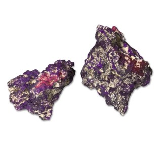 Nature's Ocean Purple Baser Rock 18 kg Rocce per acquari marini di barriera