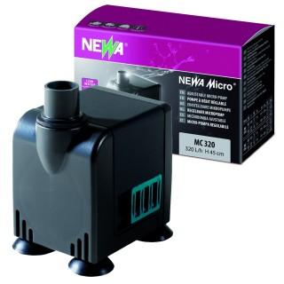 Newa Micro MC 320 Pompa 120-320 lt/h per acquari terrari e tartarughiere