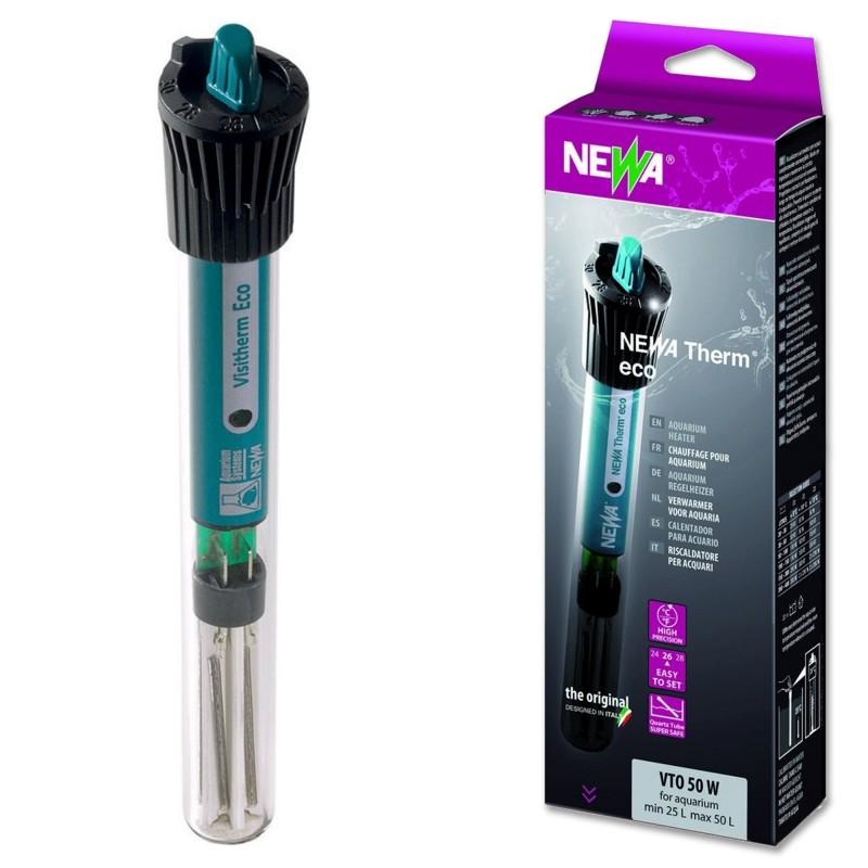 Newa Eco Therm VTO 50w Termoriscaldatore per acquari fino a 50 Litri
