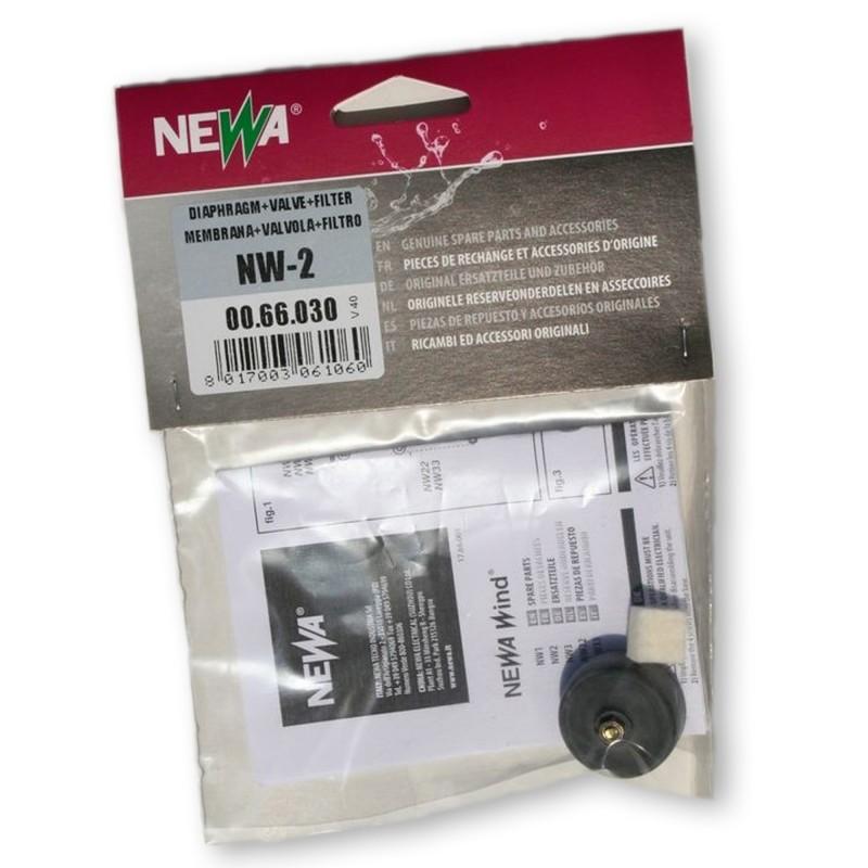 Newa Ricambio Areatore Newa Wind NW 2 Membrana e Valvola