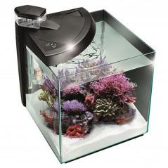 Newa More 30 Reef Marino Nero Acquario Completo di Illuminazione a Led e Skimmer 28Lt
