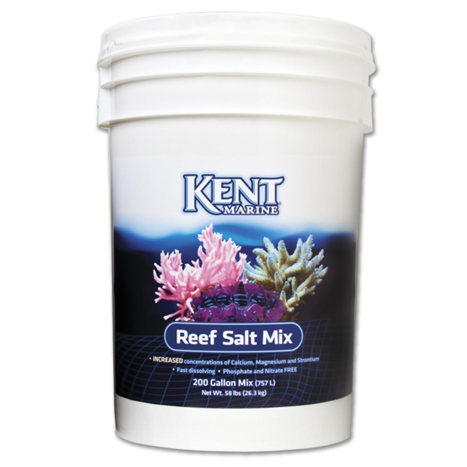 Kent Reef Salt Mix secchiello da 26,3kg per 757 litri sale per acquari marini