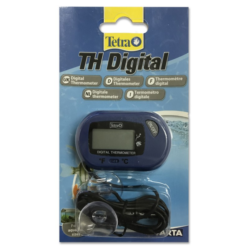 Tetra TH Digital Termometro digitale con sonda per acquario lettura precisa