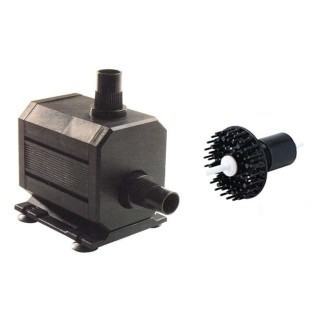 AquaBee Pompa per schiumatoi serie UP2000/1 completa di alberino, rotore a spazzola e accessori