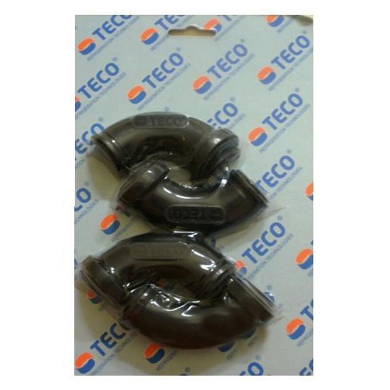 Teco Curve Salva Tubi 90° per Refrigeratori Modelli TR/TC 5-10-15-20 pezzi 4 anti schiacciamento