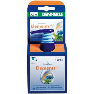 Dennerle 2742 Aquarico Element+ 50ml per 1600 l sali per acquario