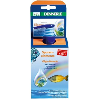 Dennerle 2743 Aquarico Element + 100ml per 3200 l sali minerali per acquario
