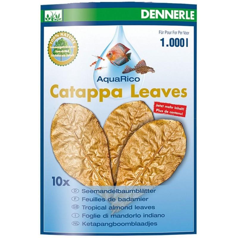 Dennerle 2744 Catappa Leaves Foglie di Mandorlo Indiano Essicate per 800 litri per acquario