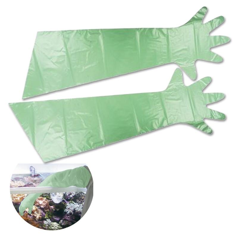 Tunze Guanti protettivi per acquario lunghi 10 pezzi 0220.510