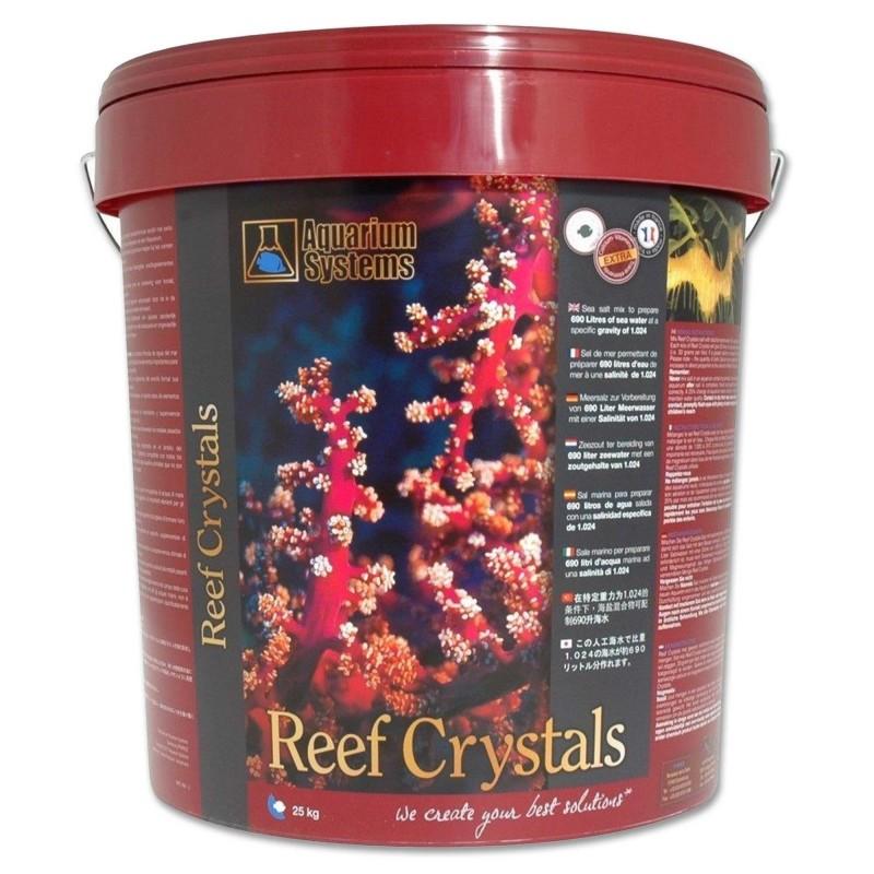 Aquarium Systems Sale Reef Crystal Secchio da 25 kg per 750 lt sale per acquari marini con calcio vitamine e oligoelementi