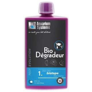 Aquarium Systems Reef Evolution Bio Degradeur 250 ml Batteri Vivi attivatore batterico per acquari marini