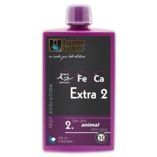 Aquarium Systems Reef Evolution Extra 2 250 ml Favorisce la sintesi del calcio dei coralli e delle alghe calcaree in acquario ma