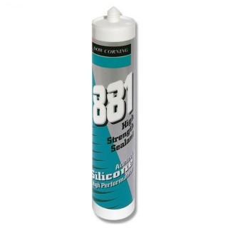 Dow Corning 881 Silicone per acquari acetico di colore Nero 310 ml
