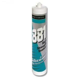 Dow Corning 881 Silicone per acquari acetico diolore Trasparente 310 ml