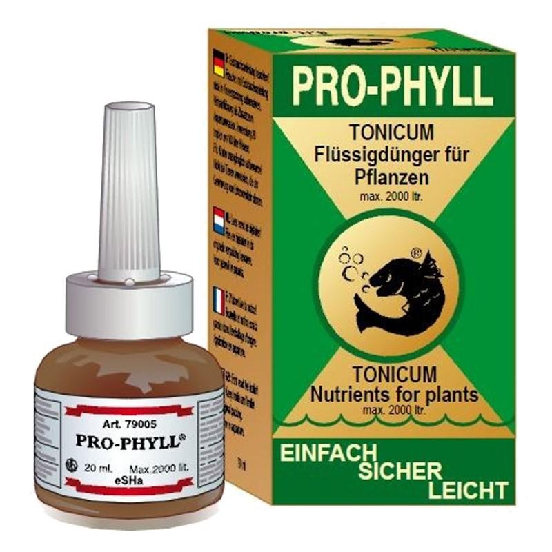 Esha Pro-Phyll Fertilizzante base per piante d' acquario d'acqua dolce 20ml per 2000 litri