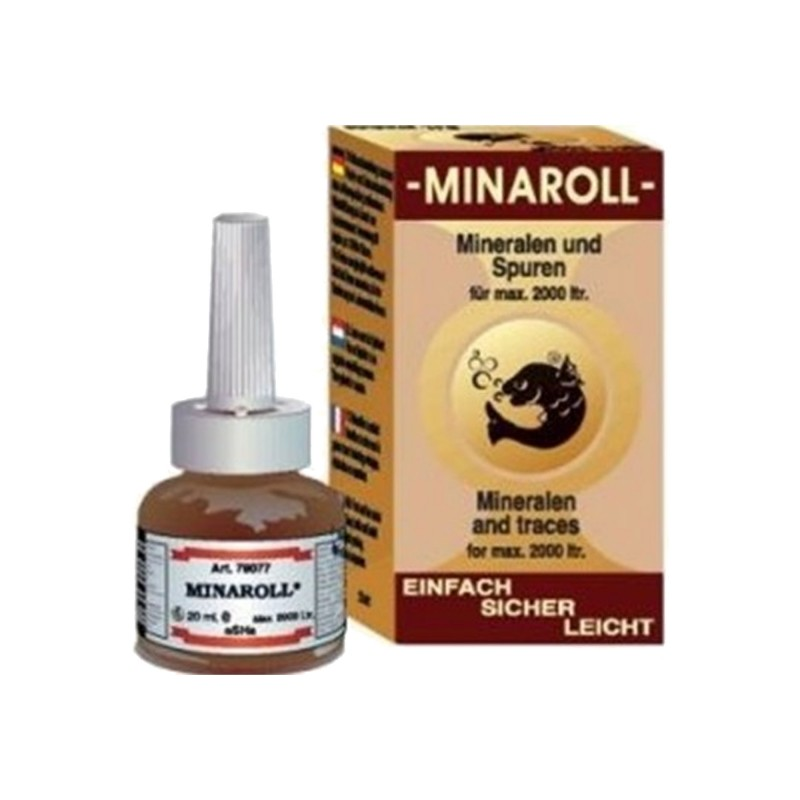 Esha Minaroll 20 ml 2000 lt vitamine minerali per pesci d'acquario