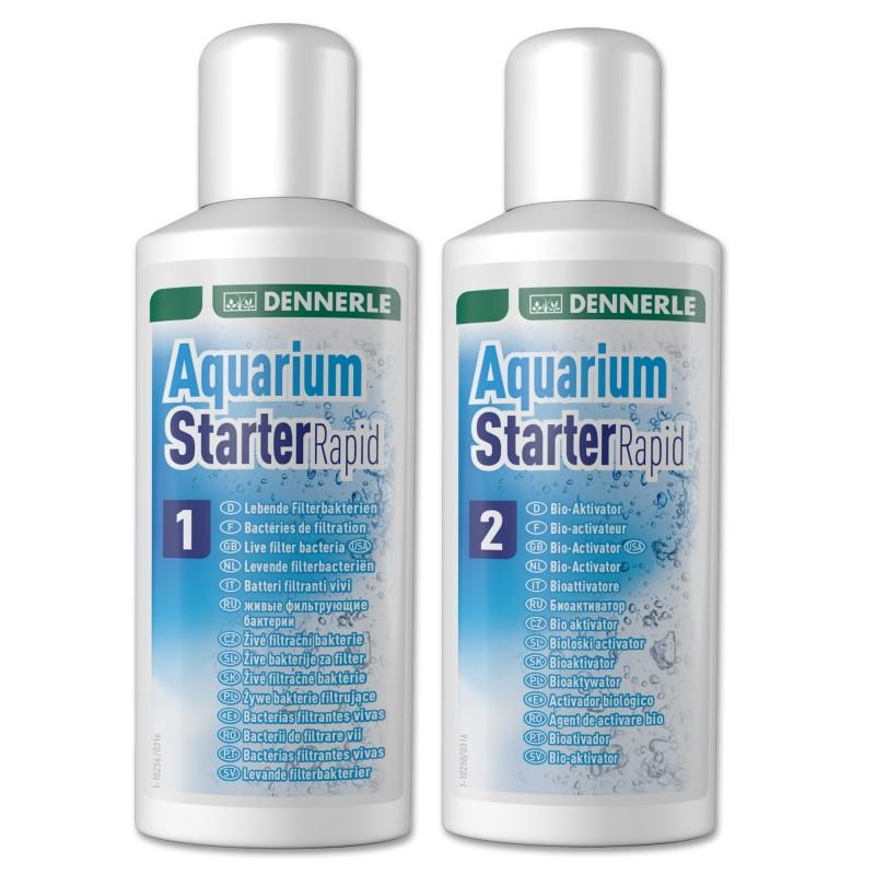 Dennerle Aquarium Starter Rapid Attivatore batterico per acquario pronto in 24 ore