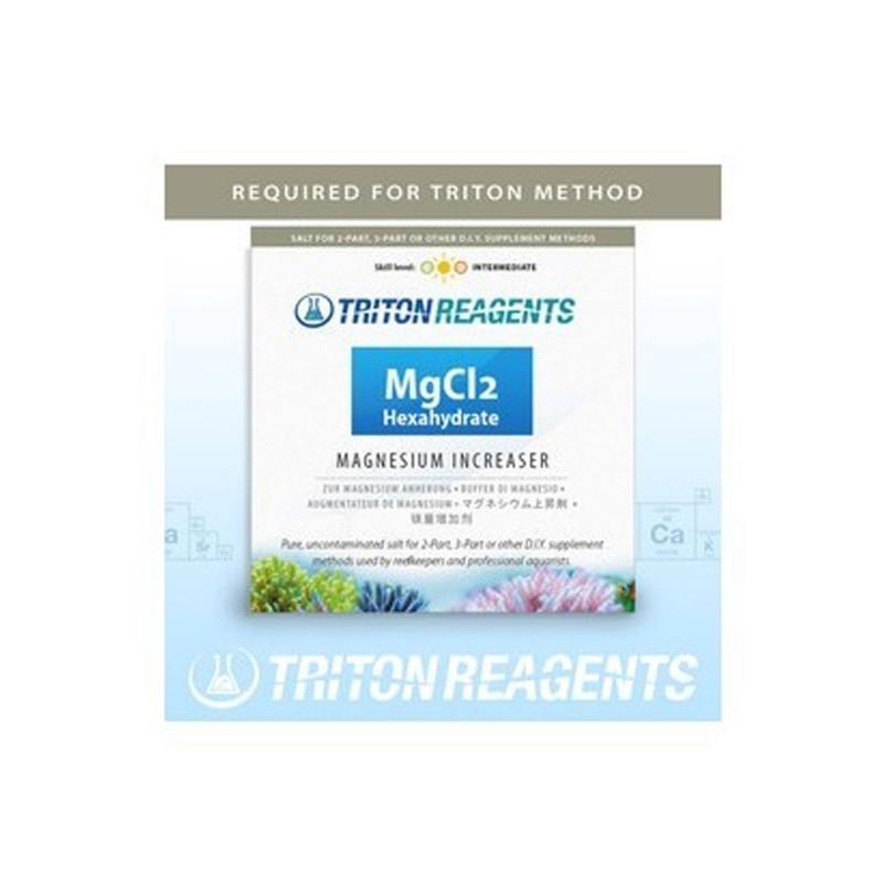 Triton MgCl2 Sale di Cloruro di Magnesio Esaidrato per aumentare il Mg in acquario marino 4 Kg