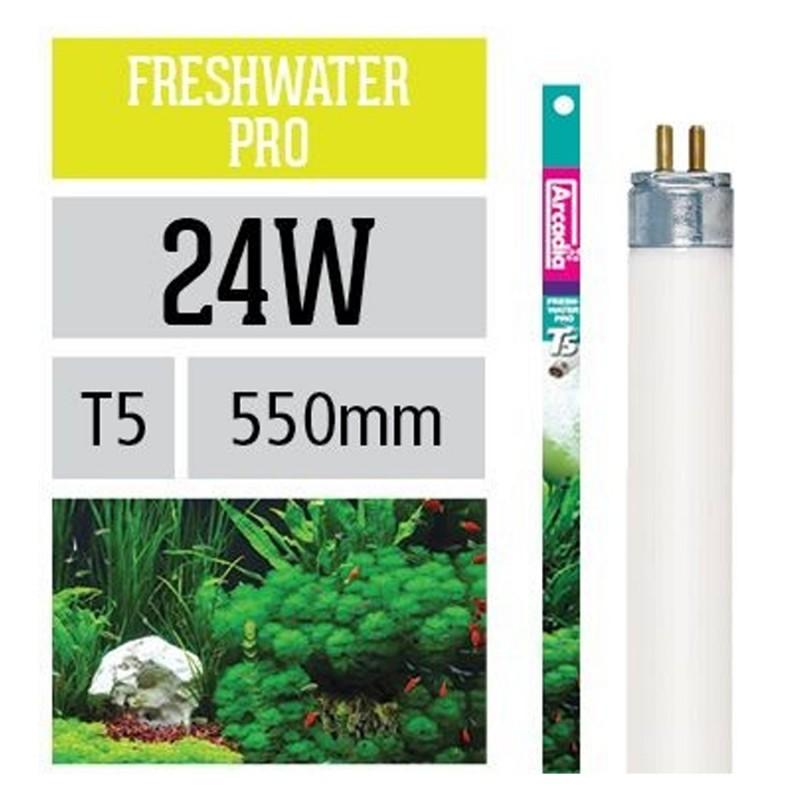Arcadia Neon Freshwater T5 luce per acquario esalta il verde delle piante 24 W