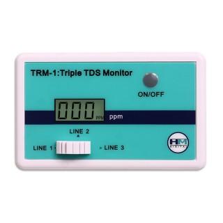Ruwal HM Digital Misuratore Tds a 3 sensori per impianti osmosi TRM-1