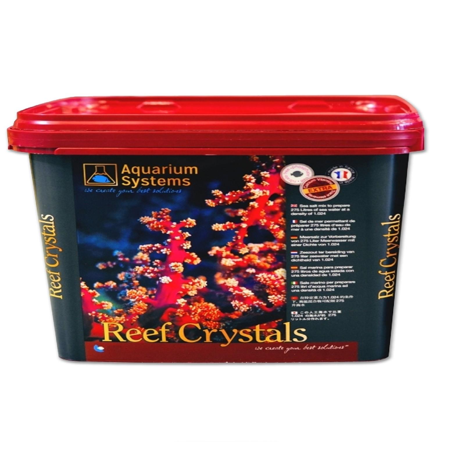 Aquarium Systems Sale Reef Crystal 4 kg per 110 lt sale per acquario marino con calcio vitamine e oligoelementi