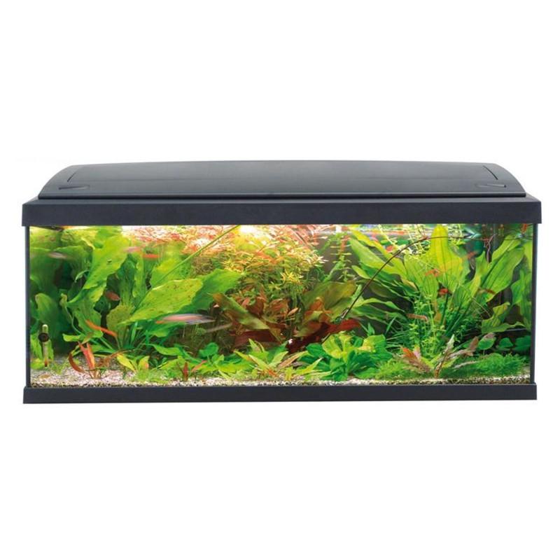 Mtb acquari milo 100 acquario accessoriato 117 l nero for Acquario marino 100 litri prezzo