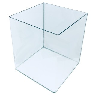 Genesi Acquari Cubo 30 litri con coperchio e angoli curvi