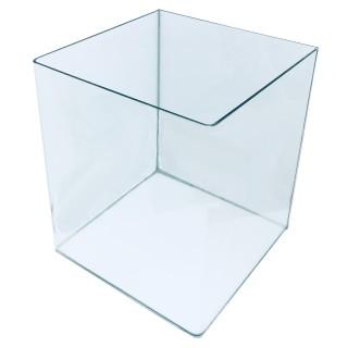 Genesi Acquari Cubo 60 litri con coperchio e angoli curvi