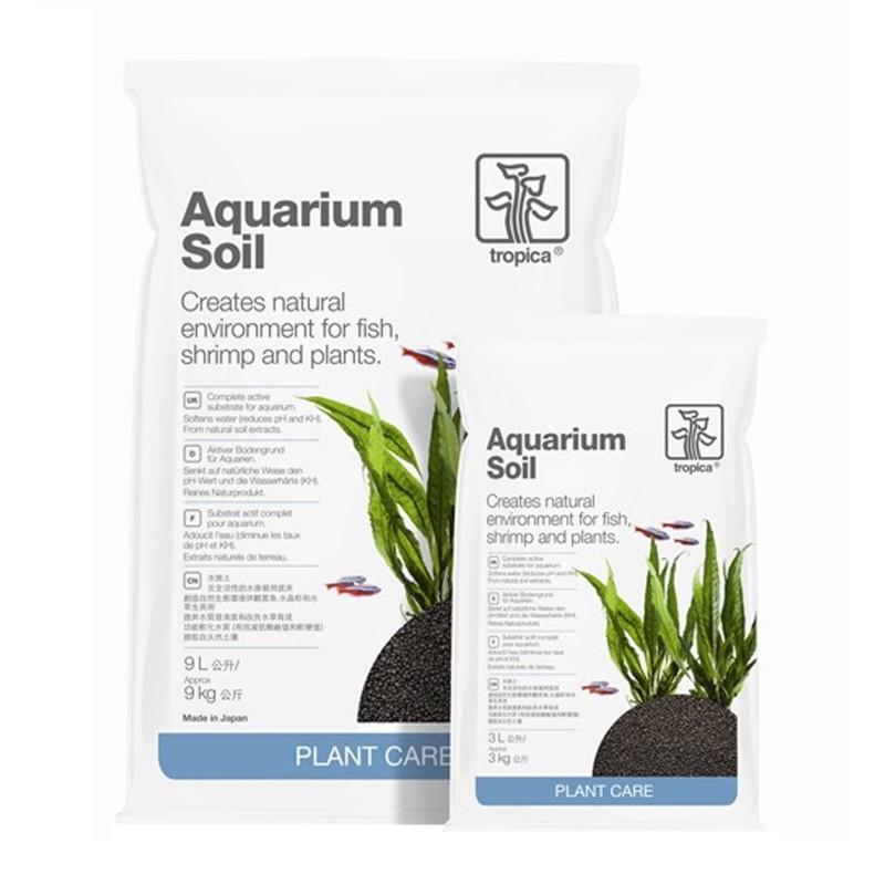 Tropica Aquarium Soil substrato fertile attivo per piante d'acquario