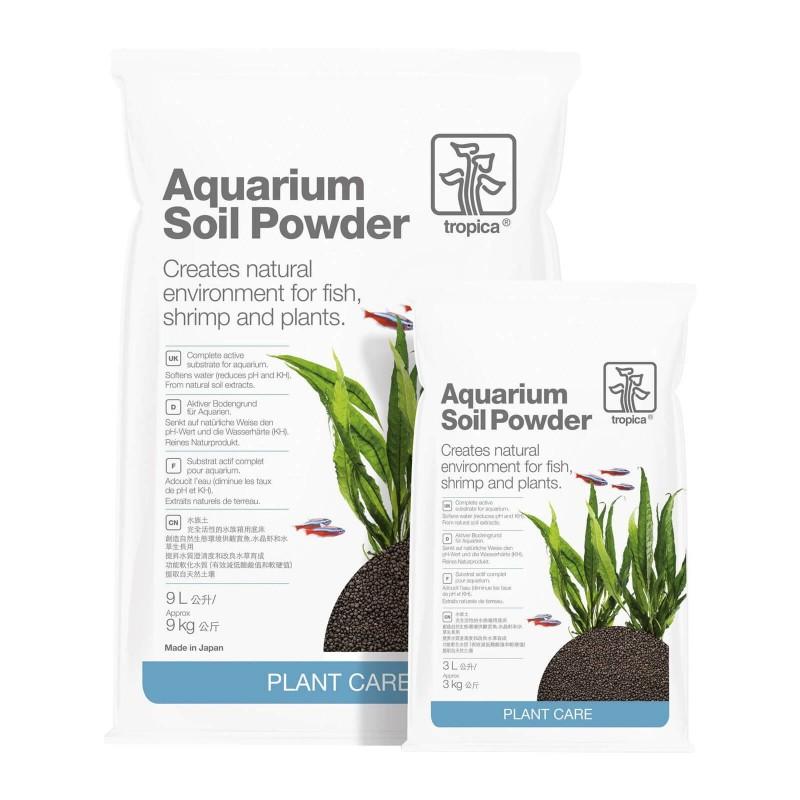 Tropica Aquarium Soil Powder substrato fertile attivo per piante d'acquario
