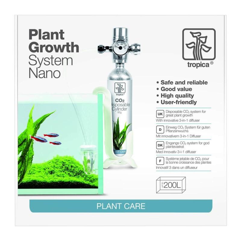 Tropica CO2 System Nano impianto di CO2 per acquario fino a 200 litri