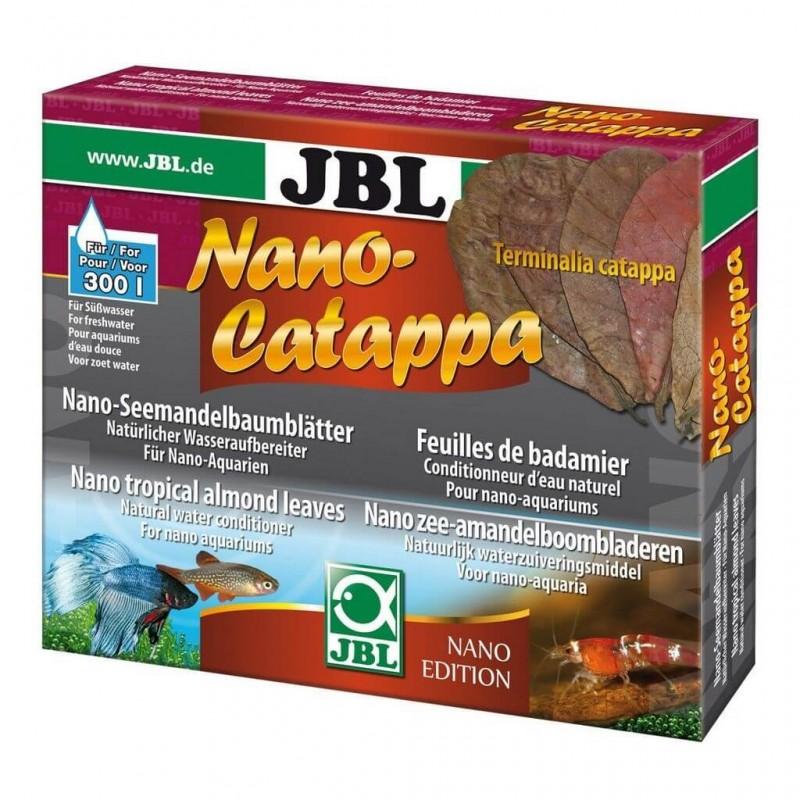 JBL Nano Catappa Foglie di mandorlo indiano 10 Foglie per acquario