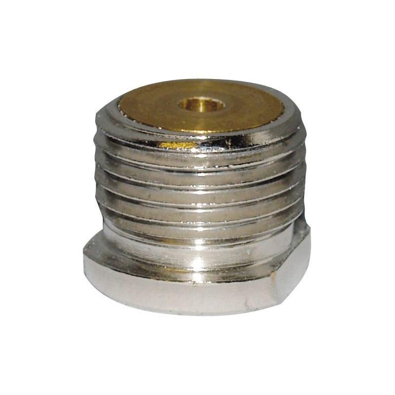 Dennerle 2997 Crystal Line Adattatore per bombole non Ricaricabili