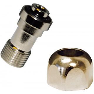 Dennerle 2998 Crystal Line Adattatore per bombole Ricaricabili Linea Nano