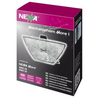 Newa Mechanichem More I Cartuccia Carbone 3 pz adatta per newa more 20 e 30