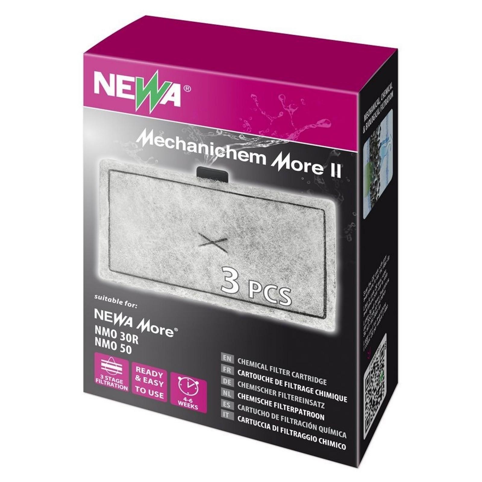 Newa Mechanichem More II Cartuccia Carbone 3 pz adatto per newa more 30 reef e 50