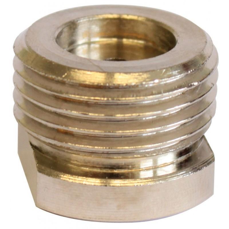 Dennerle 3000 Co2 Adattatore per Riduttore di pressione bombola ricaricabile su bombola usa e getta monouso