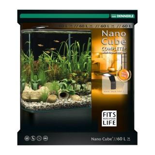 Dennerle Nano cube complete + style LEDL acquario da 60 litri