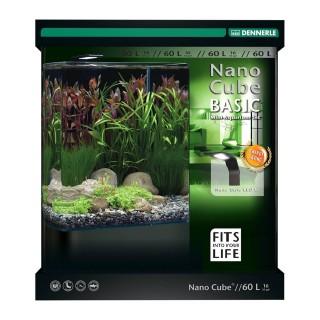 Dennerle Nano cube basic style LED L acquario da 60 Litri accessoriato