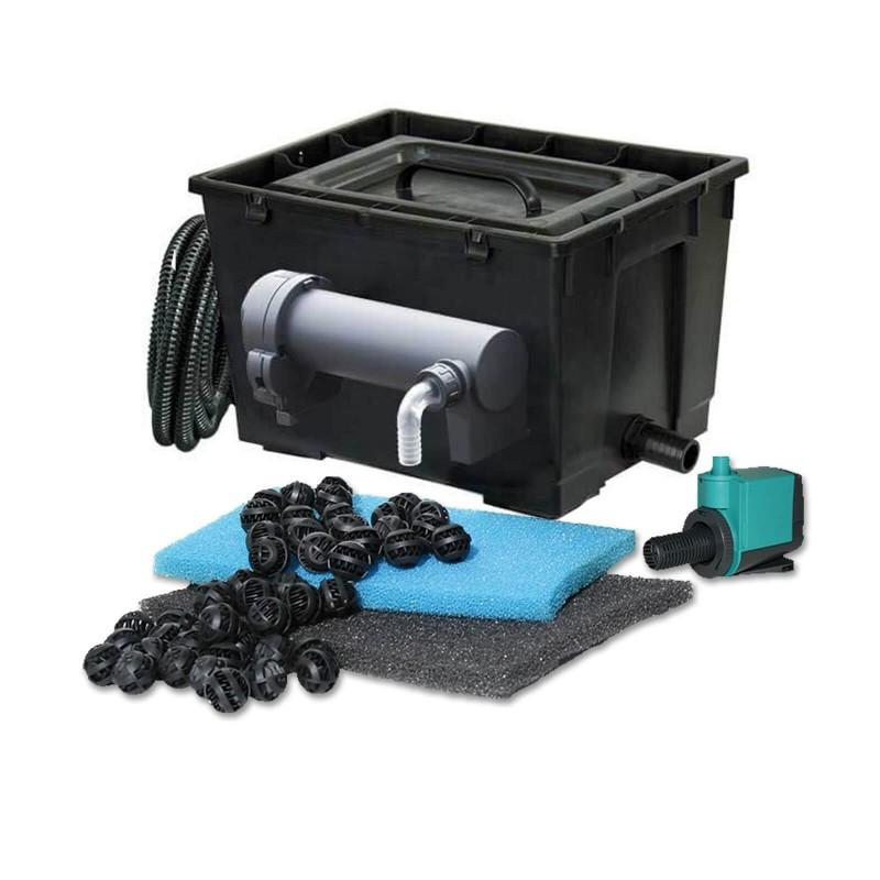 Filtro per laghetto newa pratico 3000 advanced con lampada UV